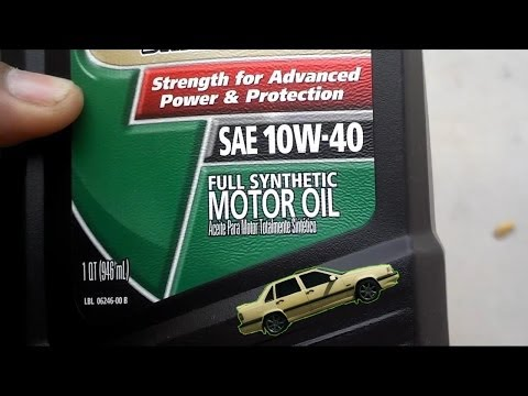 Should you switch to full synthetic motor oil? - Auto Information Series