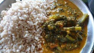 Basale kajipu /mangalore palak curry