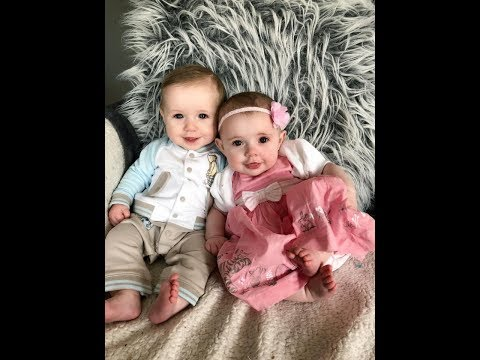 Twin Babies Becoming Models ?!