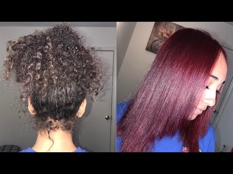HOW TO GET RED HAIR WITHOUT BLEACH