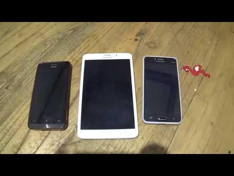 Tes kecepatan HP keluargaku (samsung Tab 6 vs Samsung J2 vs Asus Zenfone 5)