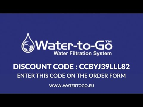 Water to Go Bottle Discount Code