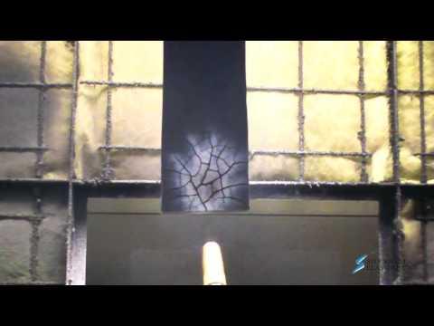 HT-800 Silicone Foam Burn Test
