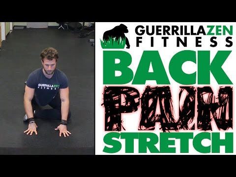 Back Pain Stretches | Tight Glutes