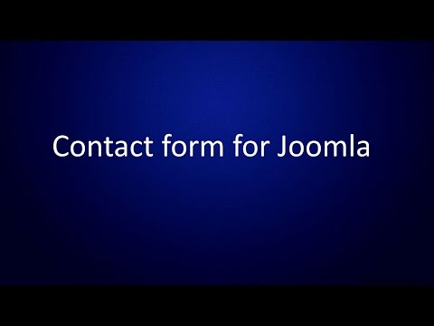 Great Contact form for Joomla 2.5 - 3.x
