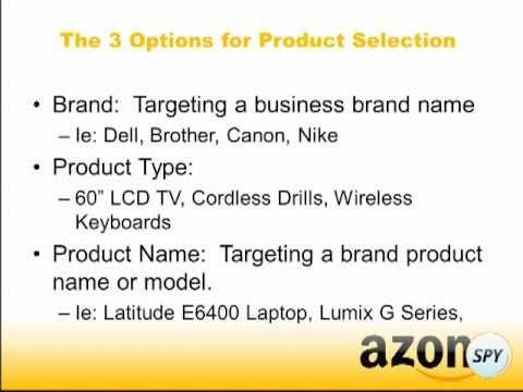 Amazon marketing   brand vs product name vs product type
