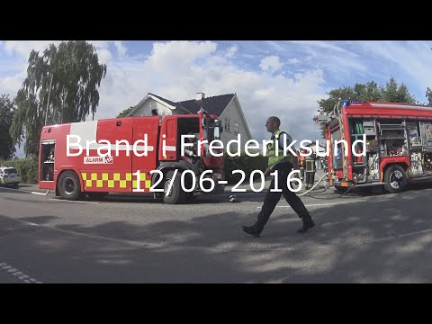 Brand i Frederiksund