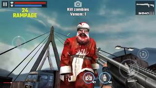 DEAD TARGET: Zombie || CHALLENGE Mission Golden Benelli M4 #01 「Android Gameplay」