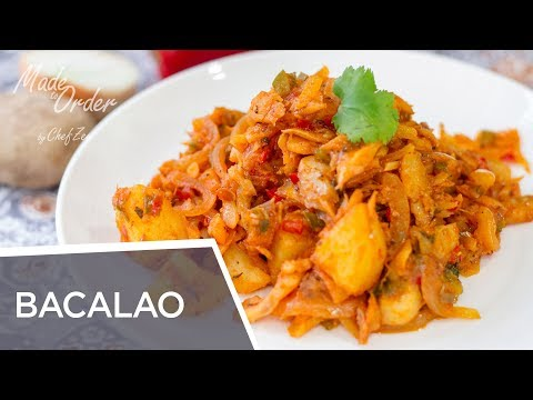 Bacalao Guisado Dominicano | Fish Recipes | Made To Order | Chef Zee Cooks