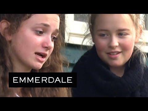 Emmerdale - Gabby Throws Up On Laurel