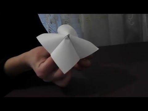 How to make an origami paper finger game
