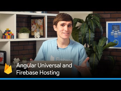 Angular Universal and Firebase Hosting (Server-side Rendering with JavaScript Frameworks)