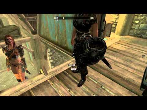 Skyrim V How to Remove Your Companions Armor
