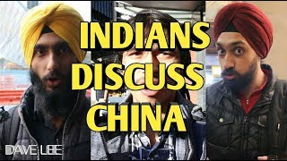 What INDIAN People Think About China NOW - 印度人谈中国