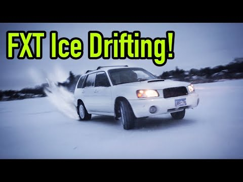 Forester XT Timing Belt Replacement and Ice Drifting
