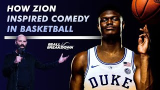 How Zion Williamson Inspires Comedy In Basketball