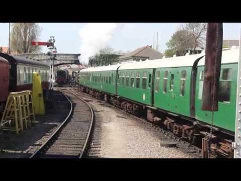 HD Swanage Railway & Brownsea Island, Dorset Holiday, 18th - 20th April 2015.