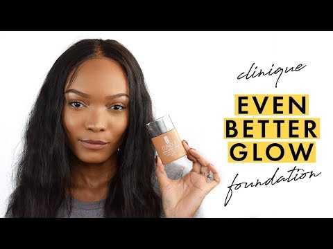 Clinique Even Better Glow Foundation First Impressions - I'm Orange!? | Alicia Fuller