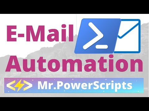 Send An Email From Powershell
