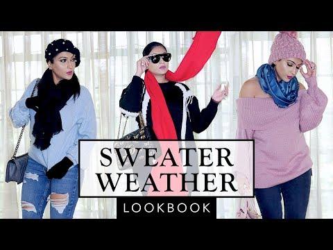 SWEATER WEATHER LOOKBOOK   Sonal Maherali