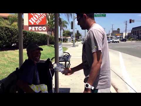 Feeding the Homeless in Anaheim California