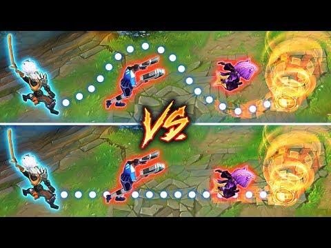 Challenger Yasuo vs Bronze Yasuo