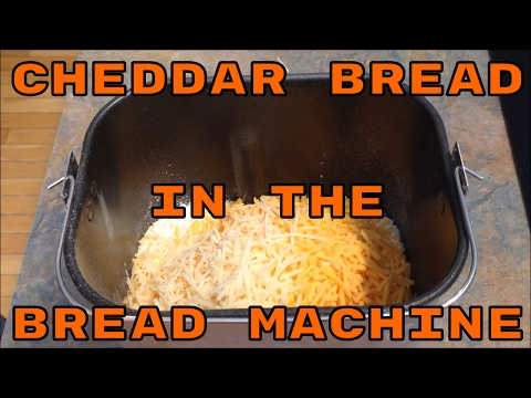 Cheddar Bread in the Bread Machine #withcaptions