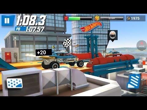 HOT WHEELS FUN Games : REAL RACEOFF - Challenging FREE Games - Car stunts Racing Online Games 4 Kids