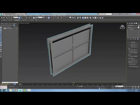 3ds Max  04-23 Creating a Fixed Window