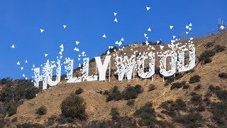 Hollywood Sign is gone!
