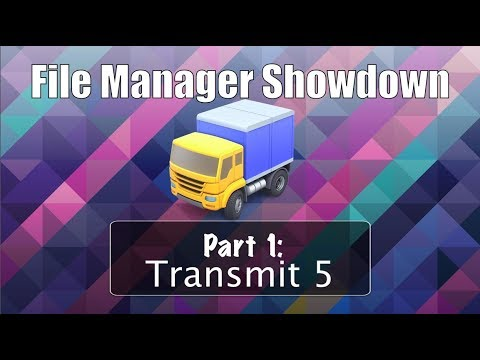 File Manager Showdown pt 1: Transmit 5