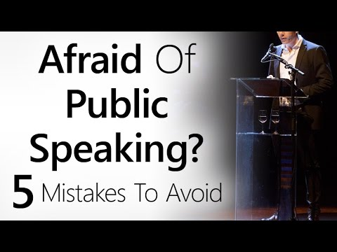 5 Public Speaking Mistakes That Will Kill Your Presentation | Tips To Avoid Ruining Your Speech