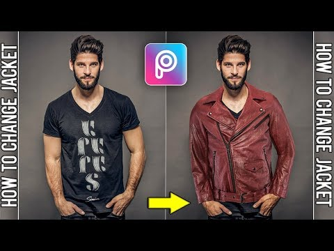 Stylish Jacket Editing | New Trick | Best Picsart Editing Tutorial |  Changing Clothes Tutorials