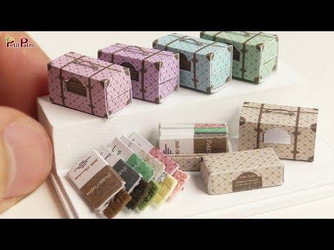 DIY Miniature Chocolate Bar Gift   Petit Palm