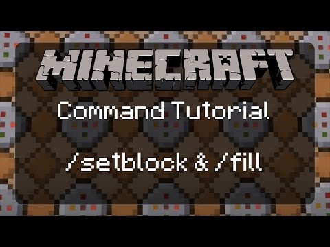 Using Commands in Minecraft: How to Use /setblock & /fill to Alter Terrain! | 1.11.2