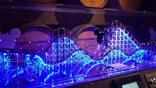Blue Sky Cellar Incredicoaster preview Pixar Pier DCA Disneyland