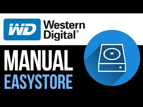 WD-easystore external hard drive Set Up Guide for Mac 2019