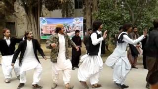 Balochi Chap In UOB Cultureday program Atif Baloch Saryabi Chap