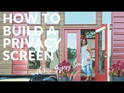 How To Build A Portable Privacy Screen