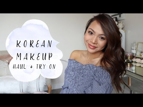 Affordable Korean Makeup Haul + Try On! (Under $20 on AMAZON PRIME)