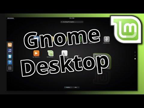 Gnome Desktop auf Linux Mint installieren [18.2 +]