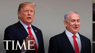 President Trump Delivers Remarks With Israeli Prime Minister Benjamin Netanyahu LIVE TIME