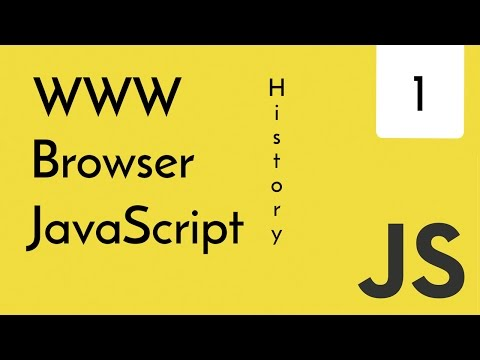 JavaScript - Story of WWW, Browser, JS