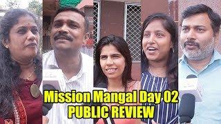 Mission Mangal Day 02 REVIEW   Akshay Kumar, Vidya Balan, Nitya Menon