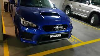 2018 Subaru WRX STi WR blue ceramic coat paint protection