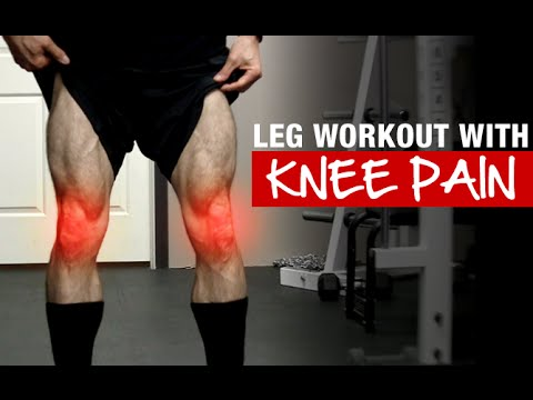 Killer Leg Workout (EVEN WITH SORE KNEES!)