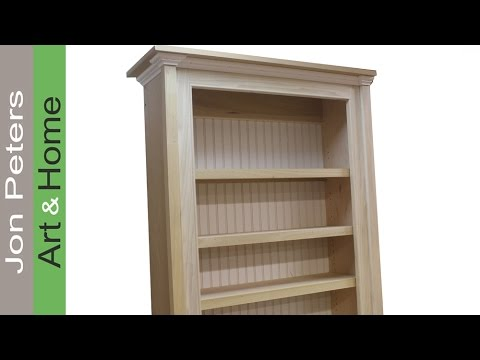 How to Build a Bookcase, Bookshelf Cabinet