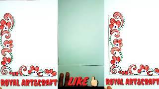 Corner Art Design    Corner Design For Project Work    File ...