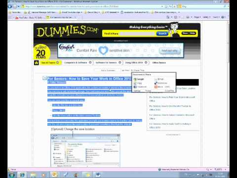 How to Save and Save As.wmv