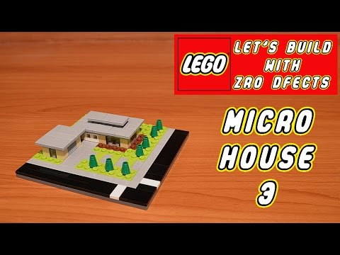 Lego Let's Build - Micro House 3